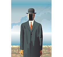 Grandson of Man (after Rene Magritte) Photographic Print