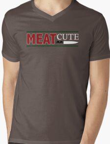 Meat Cute Mens V-Neck T-Shirt
