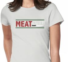 Meat Cute Womens Fitted T-Shirt