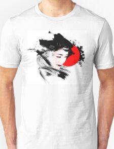 Japanese Geisha Unisex T-Shirt