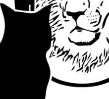 Lion - Cat Sticker