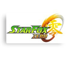 Star Fox Zero Canvas Print