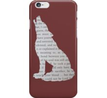 King's Cross Wolf iPhone Case/Skin