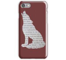 King's Cross Wolf iPhone Case/Skin