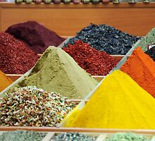 Spice Bazaar ( Mısır Çarşısı ), Istanbul - Detail by Christopher Cullen