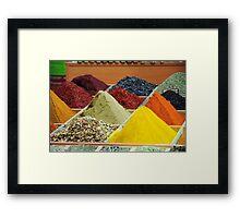 Spice Bazaar ( Mısır Çarşısı ), Istanbul - Detail Framed Print