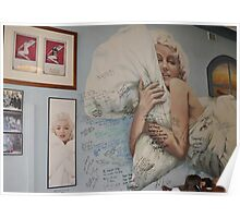 Coffee with Marilyn Monroe - Brighton Poster
