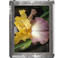 Tall Bearded Iris named Butterfingers iPad Case/Skin