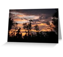 Sunset at El Arish, Far North Queensland Greeting Card
