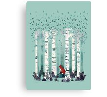 The Birches Canvas Print