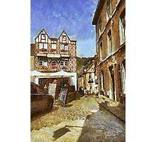 Durbuy - La Vieille Demeure - Belgium Photographic Print