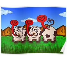 Loving Cows Poster