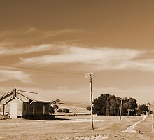 Backroad - near Bungendore by handheld