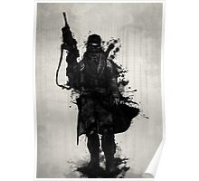 Post Apocalyptic Warrior Poster