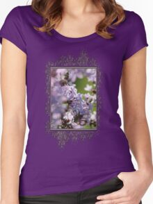 Common Purple Lilac Women's Fitted Scoop T-Shirt