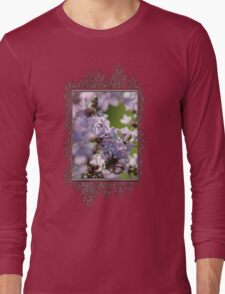 Common Purple Lilac Long Sleeve T-Shirt