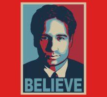 FOX MULDER BELIEVE Kids Tee