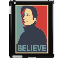 FOX MULDER BELIEVE iPad Case/Skin