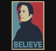 FOX MULDER BELIEVE One Piece - Short Sleeve