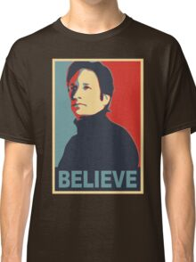 FOX MULDER BELIEVE Classic T-Shirt