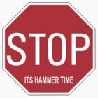 Stop! Its Hammer Time! by Chris Cardwell