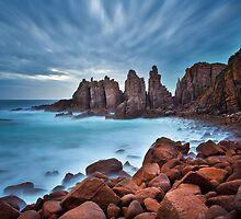 The Pinnacles by John Dekker