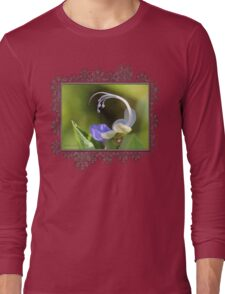 Clerodendrum Ugandense or Blue Butterfly Bush Long Sleeve T-Shirt