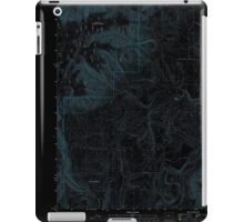 USGS Topo Map Oregon Partridge Creek 20110816 TM Inverted iPad Case/Skin