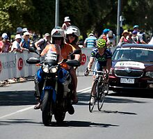 Chasing down the peloton by Mark Prior