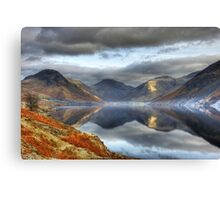 Wastwater and the Wasdale Fells Canvas Print