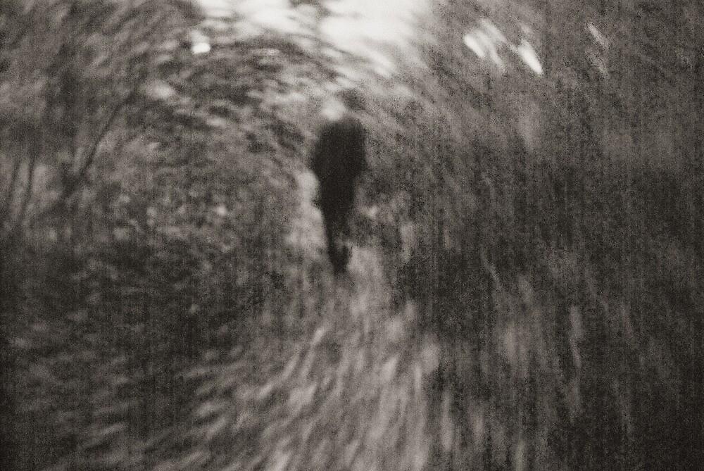 Mystery man in Leipzig by Bjarte Edvardsen