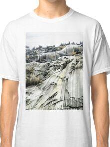 Yosemite NP: 'Winter Stone' - Watercolours. Classic T-Shirt