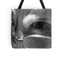 """Behind every great ..."" Tote Bag"