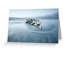 Final Anchorage  Greeting Card