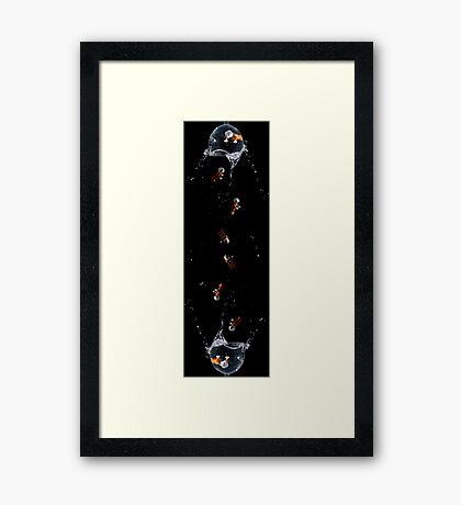 Rebel Rain Framed Print