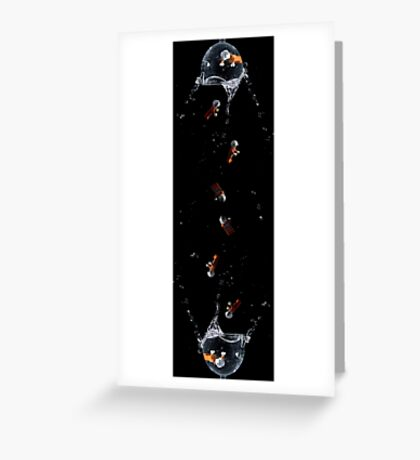 Rebel Rain Greeting Card