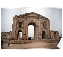 Arch of Hadrian Poster