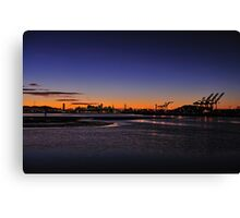 Bay Area  •  Sunset Canvas Print
