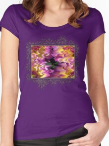 Jowey Gipsy Abstract Women's Fitted Scoop T-Shirt