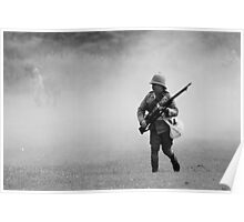 Soldier in the Boer War Poster