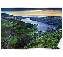 Haweswater Reservoir, Cumbria. UK Poster