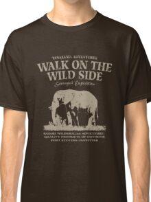 Elephant - Walk on the wild side Classic T-Shirt