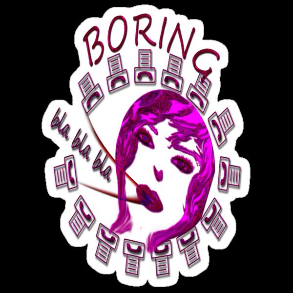 T-shirt - Boring 2 by haya1812