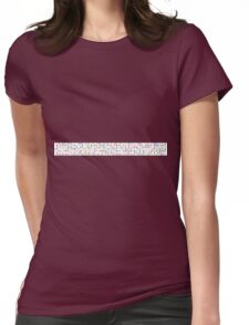 Flutazolam Womens Fitted T-Shirt