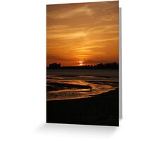 low tide 2 Greeting Card