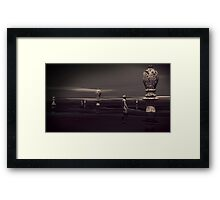 Question Everything Especially Authority Framed Print