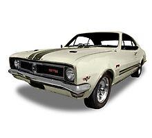 Holden - 1969 GTS Monaro - White Photographic Print