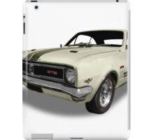 Holden - 1969 GTS Monaro - White iPad Case/Skin