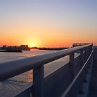bridge to sunset by enutini