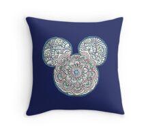 Mickey Mouse Mandala Disney Throw Pillow